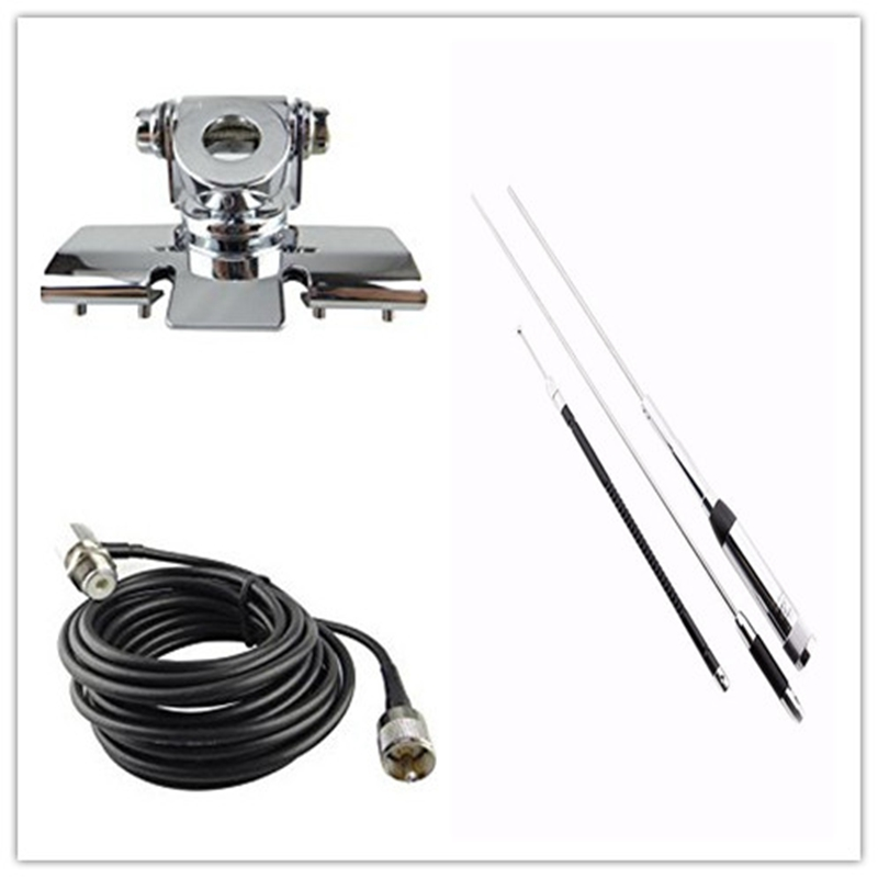 hh-9000 antenna with clip and feeder