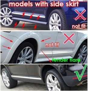 Image 5 - For VW Touareg 1 Mk1 2003   2010 Mudflaps Splash Guards Front Rear Mud Flap Flaps Mudguards Fender 2004 2005 2006 2007 2008 2009
