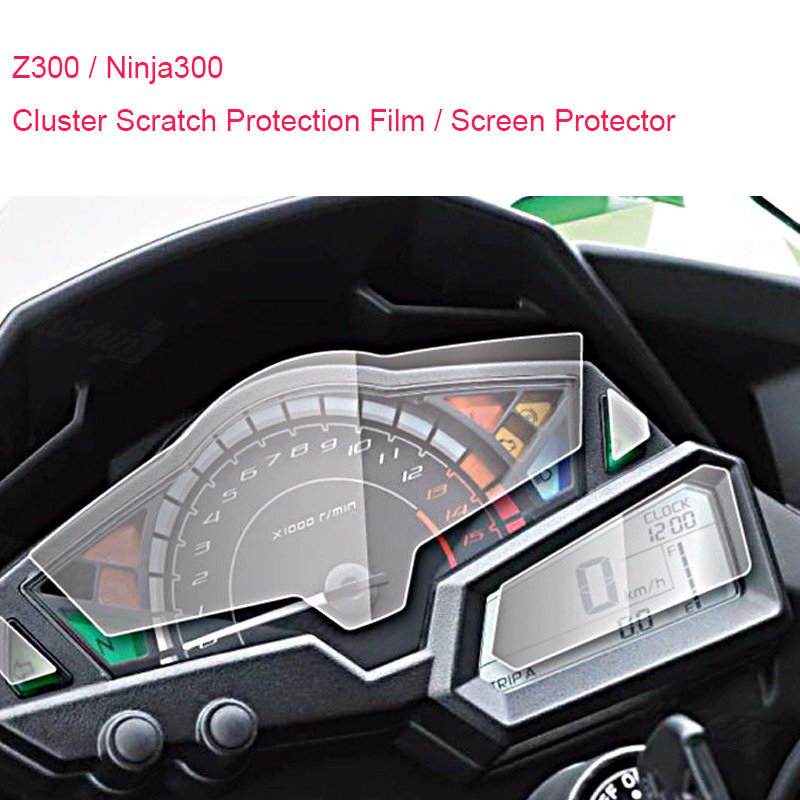 для Kawasaki Z250 Z300 ниндзя 300 EX300 2013 2014 2015 2016 кластера Скреста-защитная пленка протектор экрана 100% Новый