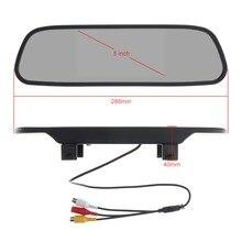 Универсальный 5 дюймов Цвет на тонкопленочных транзисторах на тонкоплёночных транзисторах ЖК-дисплей Экран широкий угол обзора Автомобильное зеркало заднего вида автомобиля монитор