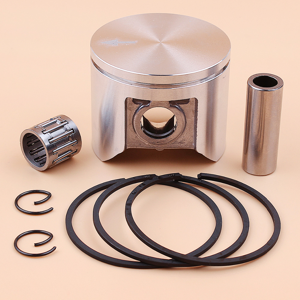47MM Piston Rings Bearing Kit Fit Husqvarna 359 357 XP 357XP Jonsered 2159 CS2156 CS2159 Chainsaw Parts 537 15 73-02, 537157302