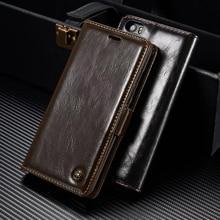 Оригинальный caseme телефон чехлы для сяо Mi Mi5 Роскошная натуральная кожа магнитных флип кошелек чехол для сяо Mi 5 Mi5 Pro Чехол