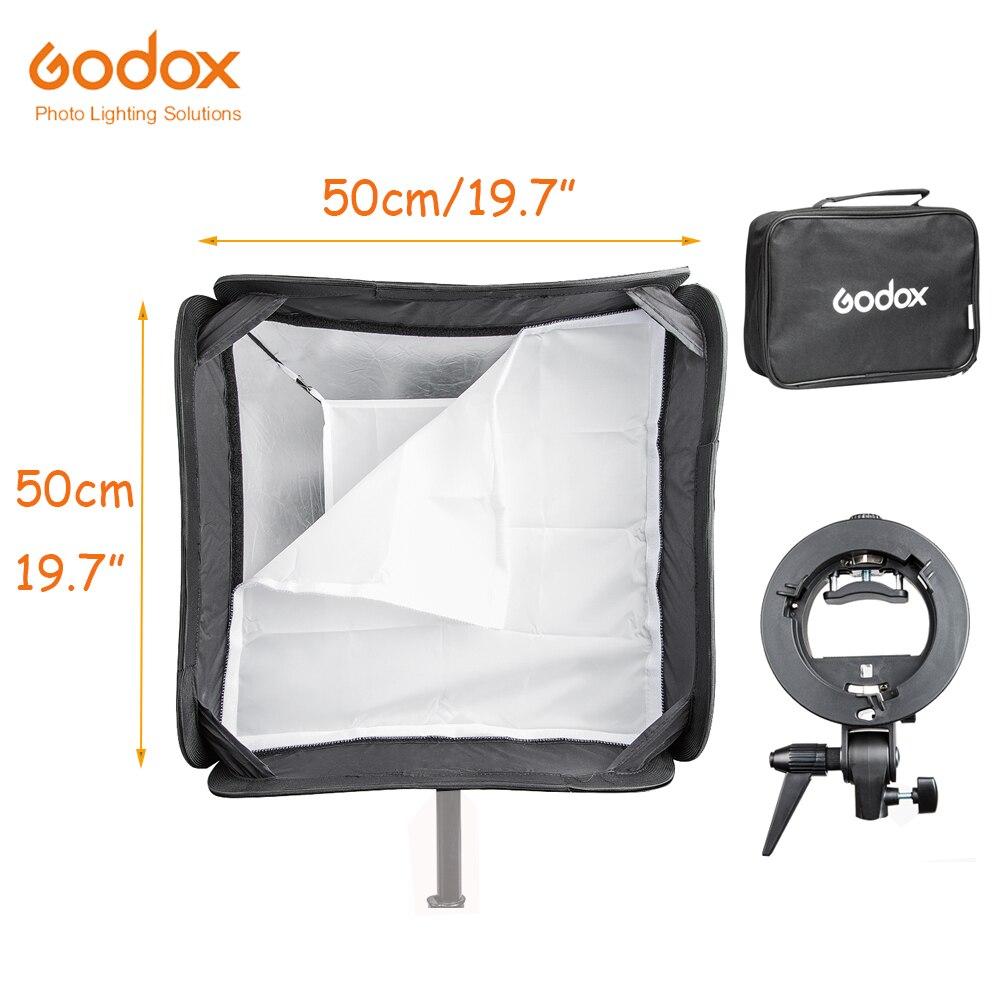 Godox Pratique Speedlite Softbox Parapluie 50*50 cm 19.7