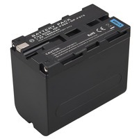 7800mah High Capacity NP F960 NP F970 Digital Camera Battery For Sony F960 F970 Rechargeable Replacement