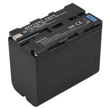 Capacidade de Bateria para Câmera 7800 Mah Alta Digital Sony F970 F960 Np-f960 Np-f970 Recarregável Batteria Bateria de Substituição