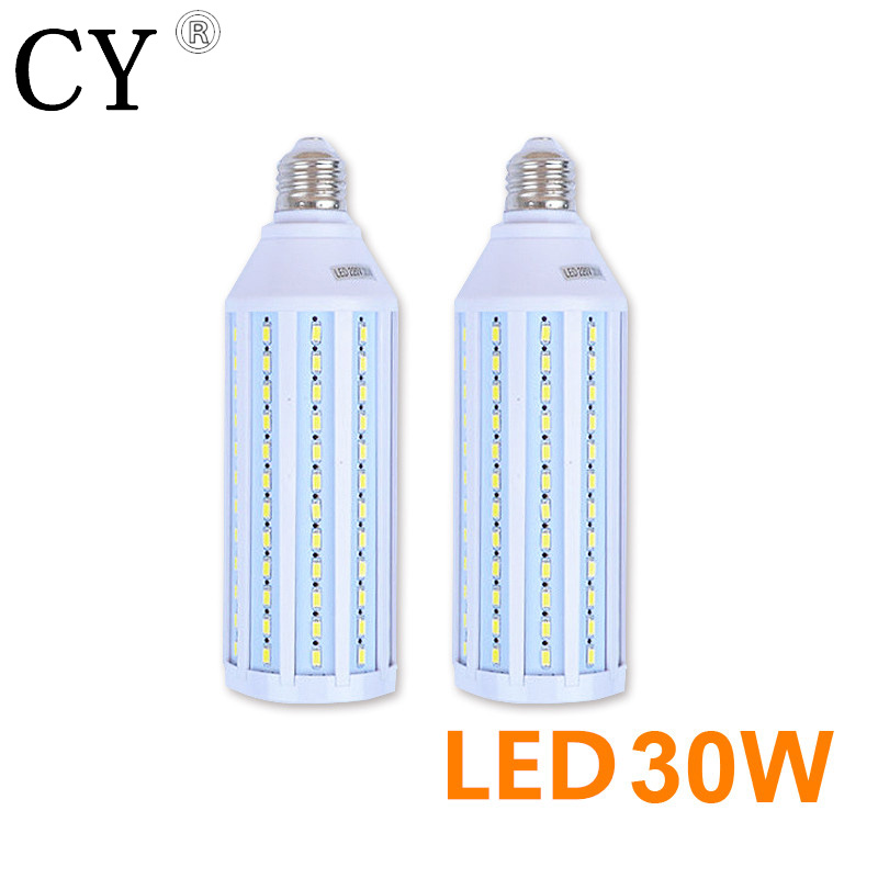 Inno 2pcs 30W LED Corn Bulb E27 220v LED Video Corn Light 5730 SMD Photo Studio Bulb Photographic Lighting