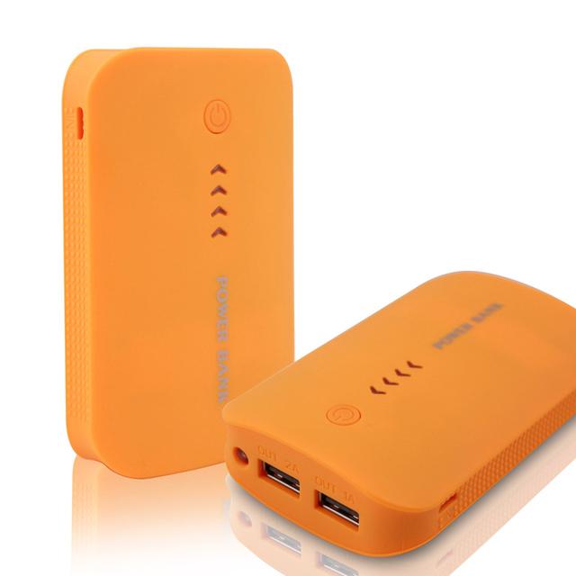 DCAE Real 8800 mAh Banco de Potência Dupla USB Externo Carregador de Bateria de Backup Powerbank para todo o telefone Móvel Universal portátil