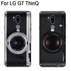 2 шт. 6,1 дюйма для LG G7 + thinq ase Чехлы для LG G7 thinq чехол Ретро чехол на телефон с изображениями героев мультфильмов для LG G7 + thinq