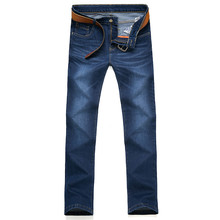 2017 весна новое прибытие мужская повседневная мода джинсы Мужчины высокого качества бизнес джинсы размер 28-40 Бесплатно доставка