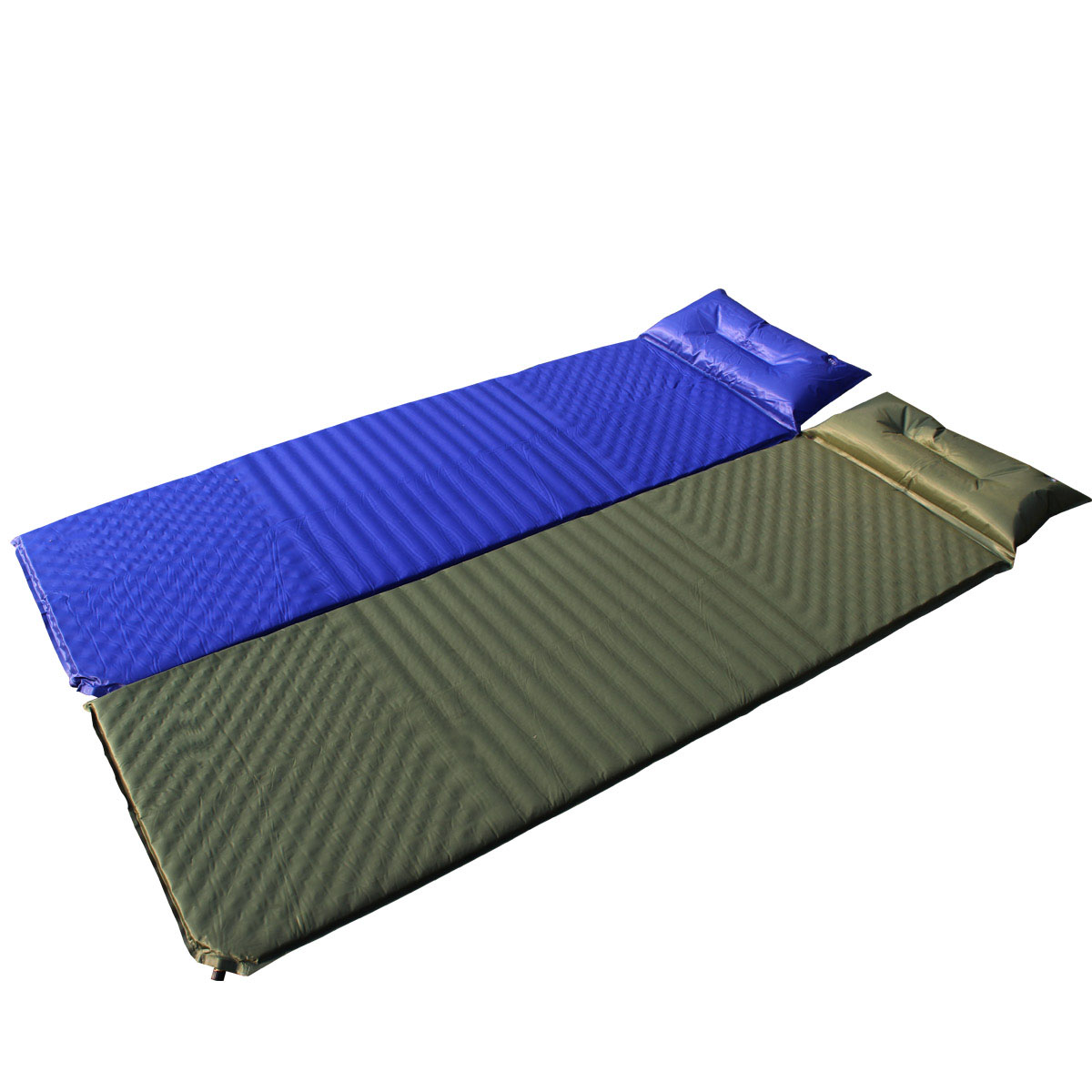 Chanodug Outdoor With Pillow Automatic Inflatable Cushion Sleeping Bag Mattress Tent Moisture Proof Pad Mat In Camping From Sports Entertainment On