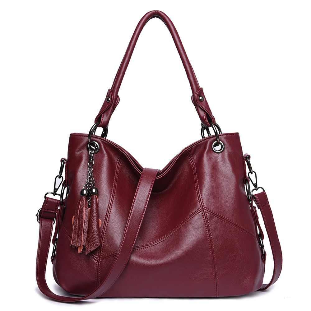 9a66c2c26eff Lanzhixin Women Leather Handbags Women Messenger Bags Designer Crossbody Bag  Women Bolsa Top-handle Bags
