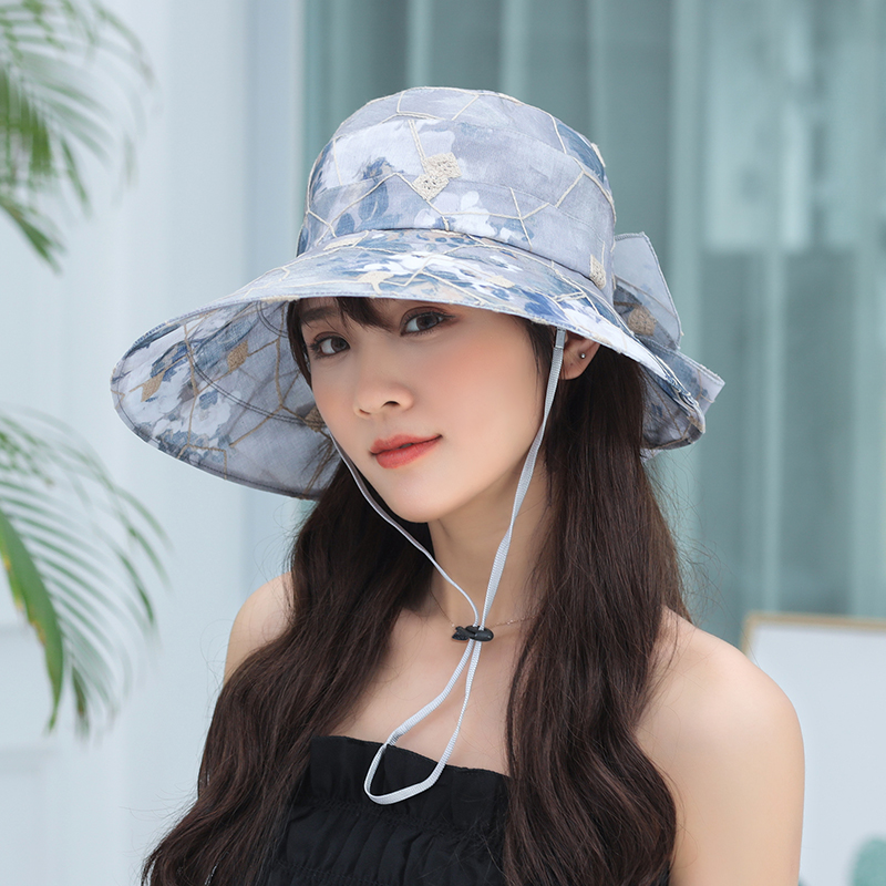 0784fcad761 2019 Summer Sun Hats For Women bucket hats Beach Hat casual Wide Brim  Foldable Outdoor Fishing