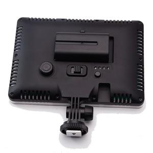 Image 3 - Slim DSLR וידאו LED אור + סוללה + USB מטען עם אחסון תיק עבור Canon ניקון מצלמה DV למצלמות