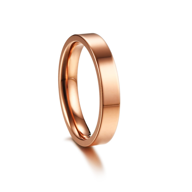 CAR7 4mm women ring have 3 color chioce