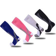 Best selling compression socks men and women outdoor running sports non-slip breathable hiking