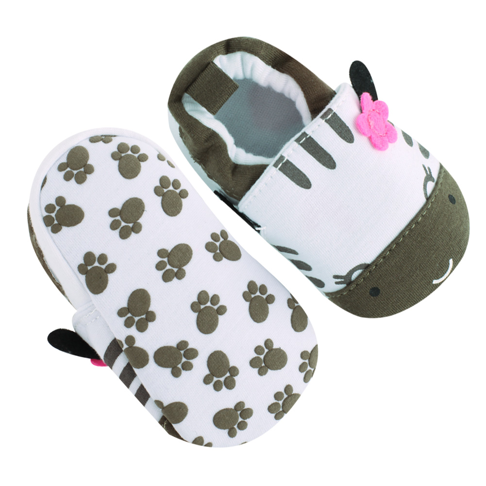 Toddler Cat Print Pure Cotton Shoes Boys Girls