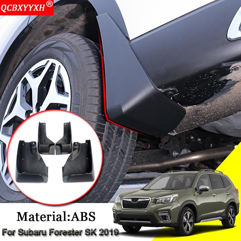 Car Styling ABS Mud Flaps Splash Guard Mudguard Mudflaps Fenders External Decoration Car Accessories For Subaru