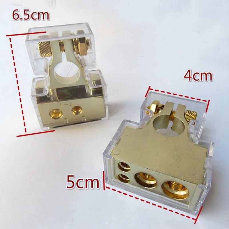 2pcs Battery terminal battery connector Clamp battery clip battery header цены онлайн