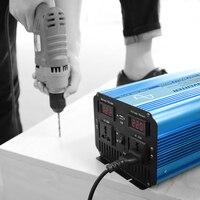 Бесплатная доставка BELTTT Горячая распродажа! 1500 w инвертор с чистым синусом Мощность инвертор DC12V для AC220V Солнечный Мощность инвертор