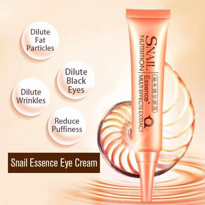Laikou Slak Oogcrème Essentie Hydraterende Verstevigende Anti-Aging Eye Serum Donkere Kringen Ogen Zakken Verwijderen Eye Care 30g