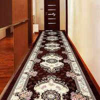 Europe Corridor Carpets Hotel Long Aisle Rug Decorative Entrance/Hallway Doormat Anti Slip Stair Carpet Wedding Floor Rugs