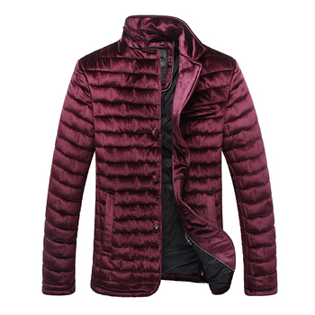 2020 High Quality Winter Jacket Men Fashion Cotton Padded Puffer Coat Autumn For
