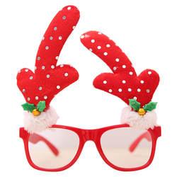 2018 Горячие декоративные очки рождественские украшения оправ Декор Вечеринка игрушки детям подарки featu Бесплатная доставка #2A17
