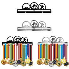 DDJOPH Triathlon medal hanger Stainless steel holder Sport for swimming,running,cycling medals