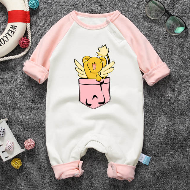b660a73c8 Online Shop Anime Kero Baby Boy Rompers For Newborns Clothes Long ...