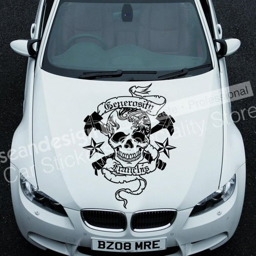 White Car Decal Stickers