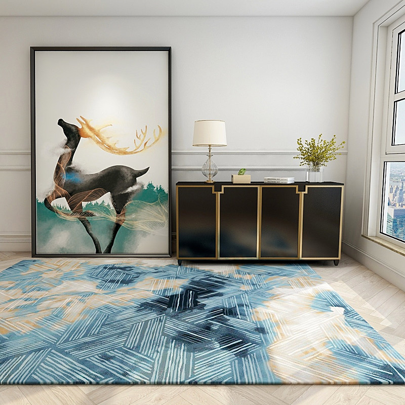 Light Luxury Carpets For Living Room Nordic Carpet Bedroom Sofa Coffee Table Rug Study Room Floor Mat Home Decoration Area Rugs