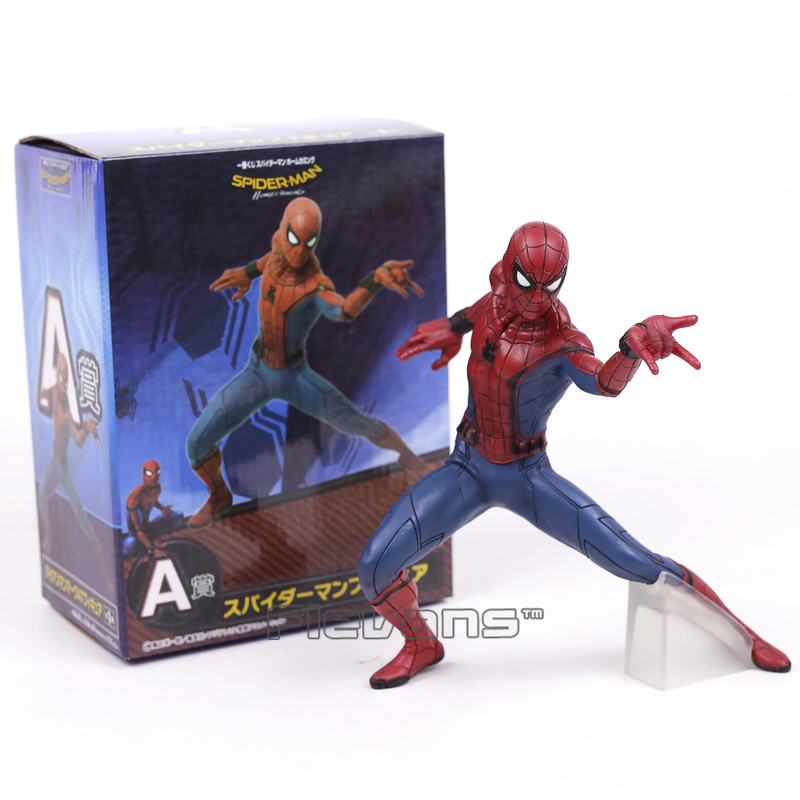 Spider Man Homecoming Spiderman / Iron Man MK47 PVC Figure Collectible Model Toy superhero spiderman movable figure spider man homecoming pvc action figure model toy boxed