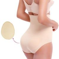 a6f01be885 NINGMI Women Butt Lifter Padded Panty High Waist Trainer Tummy Control  Enhancer Shapewear Wedding Slimming Body