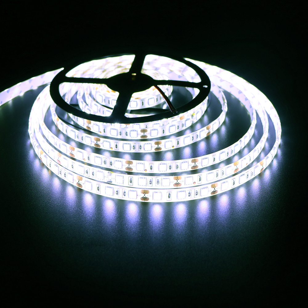 5050 led strip white color 4000k dc12v smd high quality 5m 60ledm 5050 led strip white color 4000k dc12v smd high quality 5m 60ledm flexible led rope indoor outdoor decor light fast ship tr in led strips from lights sciox Gallery