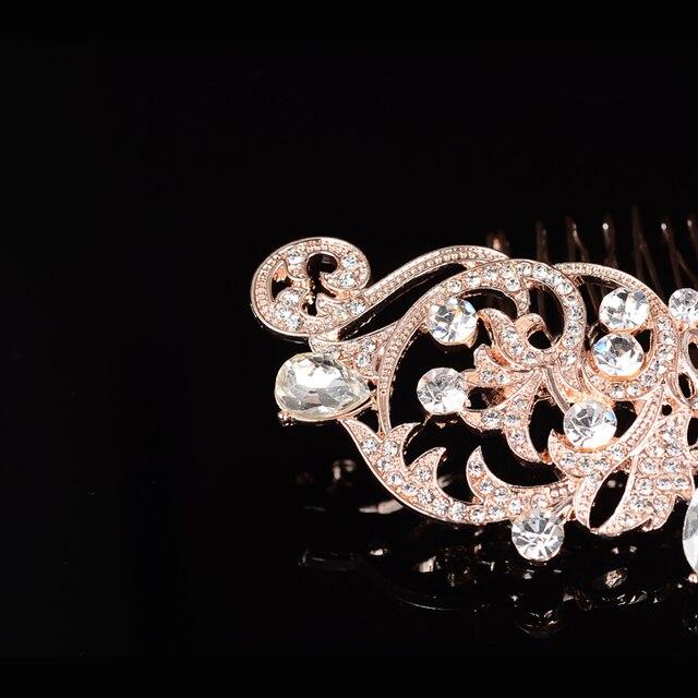 Slbridal Новое поступление хит продаж стразы из розового золота