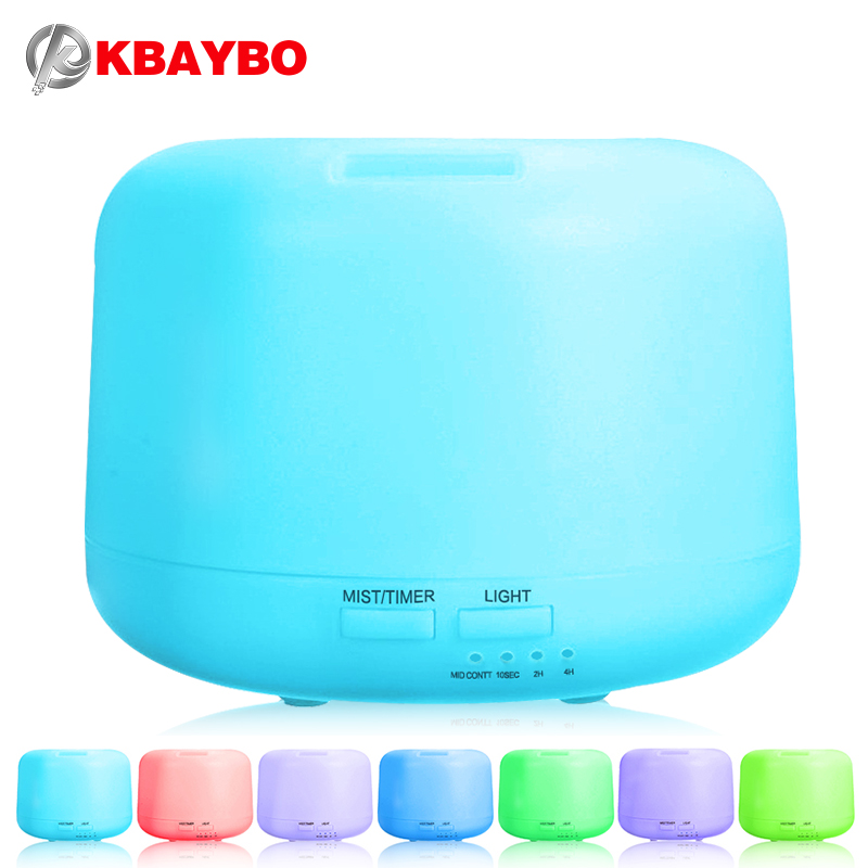 Ultrasonic Aromatherapy Humidifier Essential Oil Diffuser Air Purifier for Home Mist Maker Aroma Diffuser Fogger LED Light 300ML 2016 new hot sale led light aromatherapy air humidifier essential oil aroma diffuser ultrasonic mist maker for home appliance