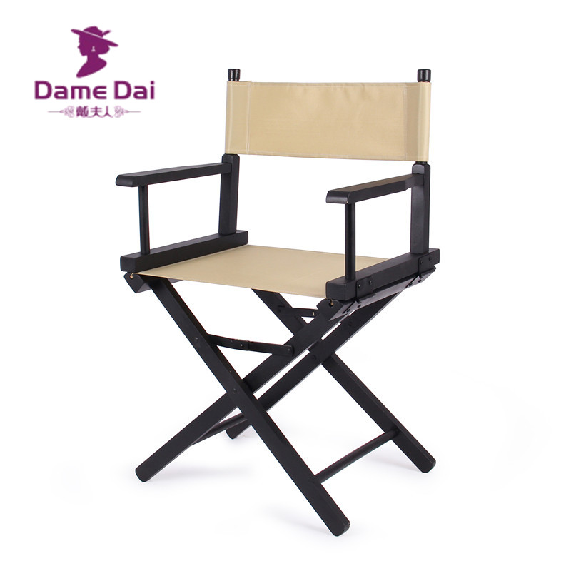buy wooden foldable directors chair canvas seat and back outdoor furniture portable wood director chairs folding camping beach chair from