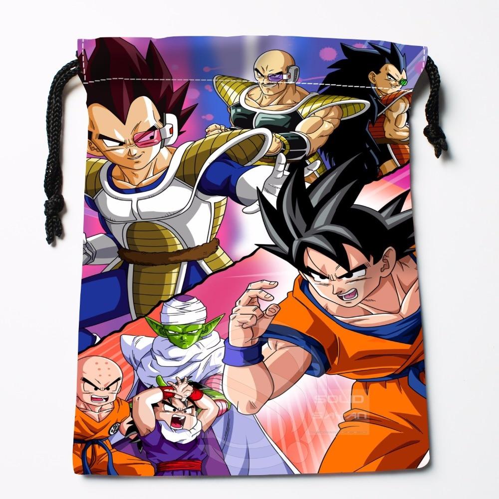 Fl-Q12 New Dragon Ball Z #1 Custom Logo Printed  Receive Bag  Bag Compression Type Drawstring Bags Size 18X22cm 711-#F12