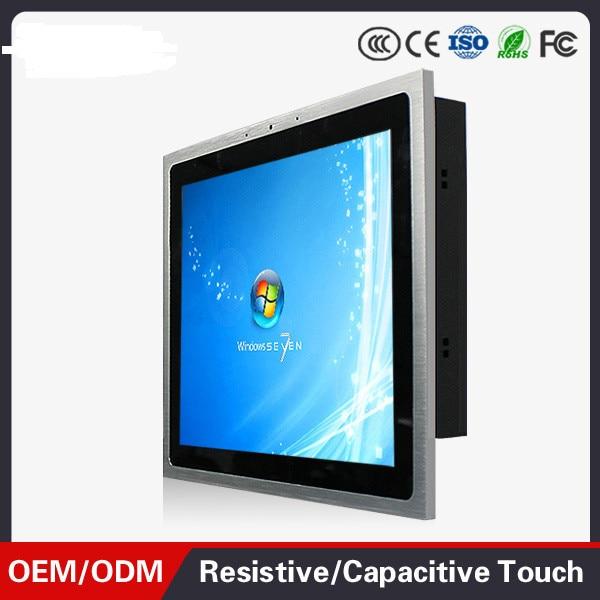 1000 кд/м2 яркость 12,1 дюймов J1800 безвентиляторный сенсорный экран все в одной панели ПК широкотемпературная промышленная панель ПК