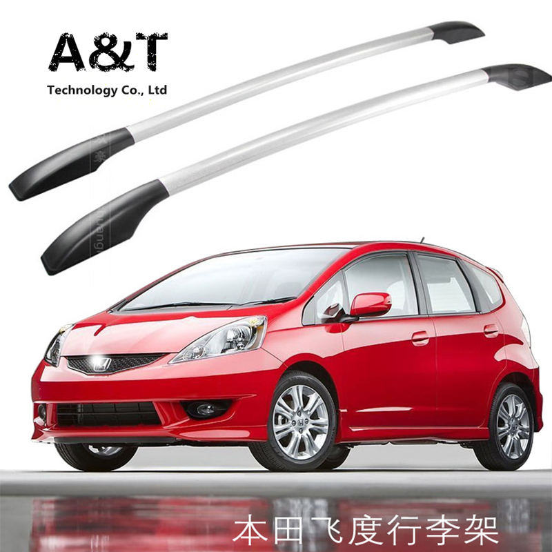 JGRT Car Styling For Honda Fit Car Roof Rack Aluminum Alloy Luggage Rack  Punch Free 1.3 Meters Car Accessories In Roof Racks U0026 Boxes From  Automobiles ...