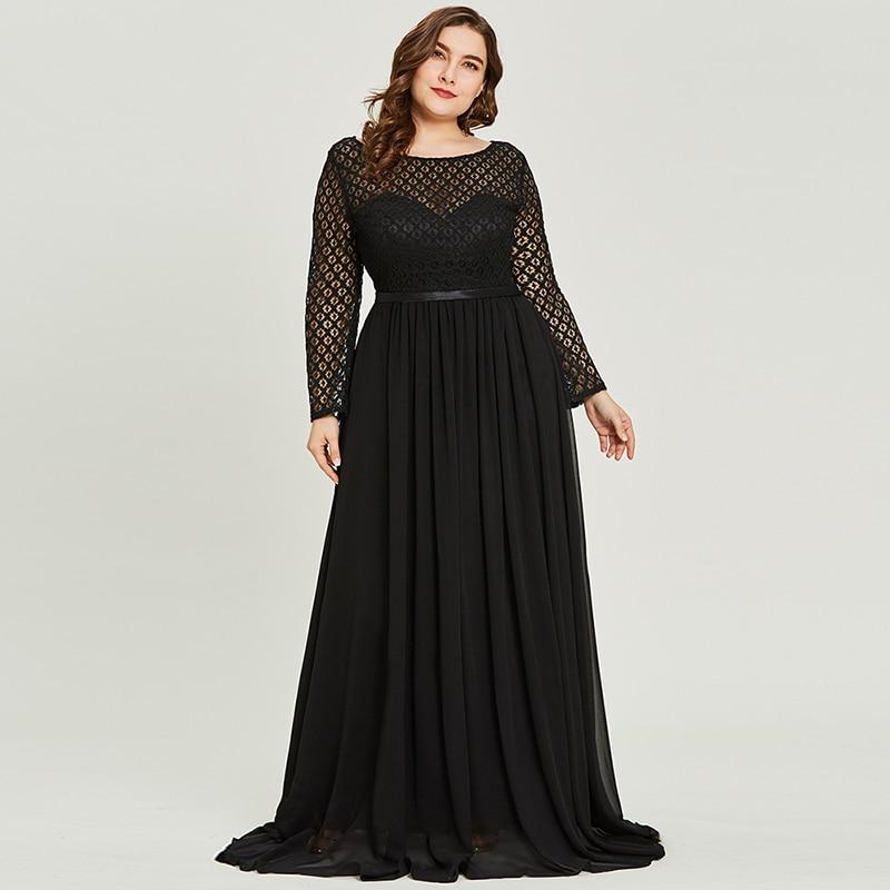 Gown Dressing Chauffaun: Aliexpress.com : Buy Tanpell Scoop Neck Lace Evening Dress