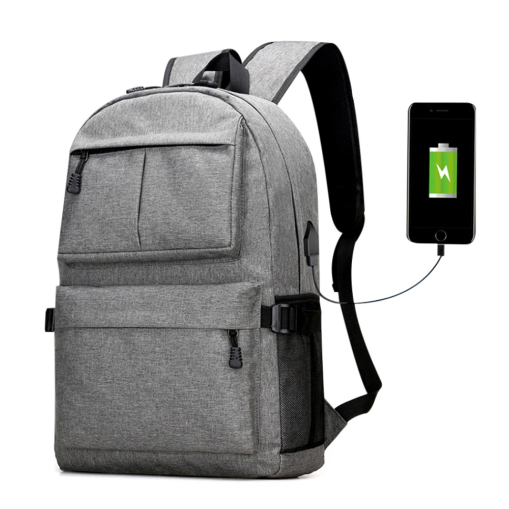 USB Designer Backpack School Bags Canvas Backpack Laptop Men School Bags For Teenage Girls Travel Pack Luggage Large Capacity 14 15 15 6 inch flax linen laptop notebook backpack bags case school backpack for travel shopping climbing men women