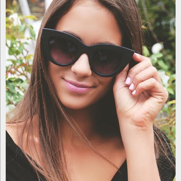 HTB1aO pRpXXXXcJXpXXq6xXFXXXA - Women's cat eye sunglasses ladies Plastic Shades quay eyewear brand designer black pink sunglasses PTC 221
