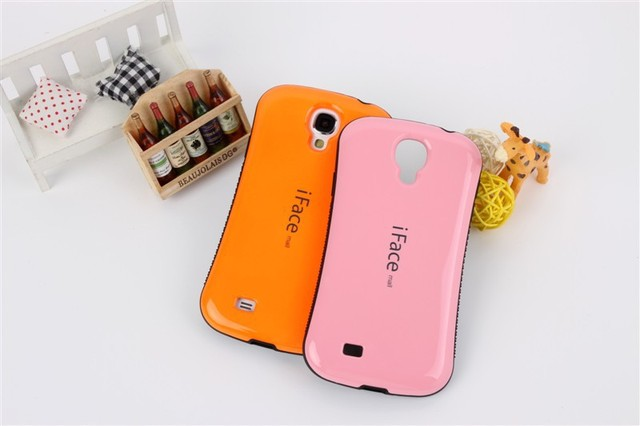 High quality iFace Case For Samsung Galaxy SIV S4 i9500;Free shipping with retail package,10pcs/lot