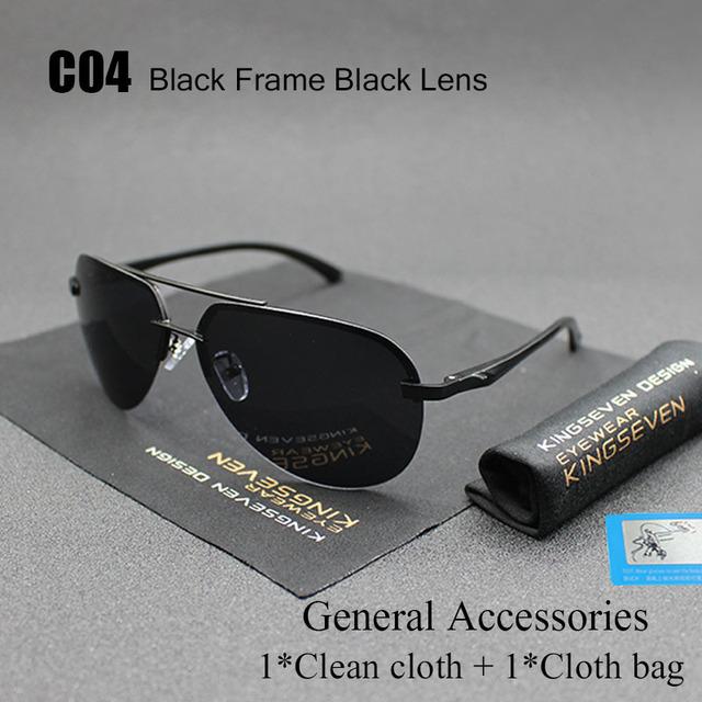 Aluminum Magnesium Polarized Sunglasses Men Women Driver Mirror Fishing Outdoor Sports Eyewear