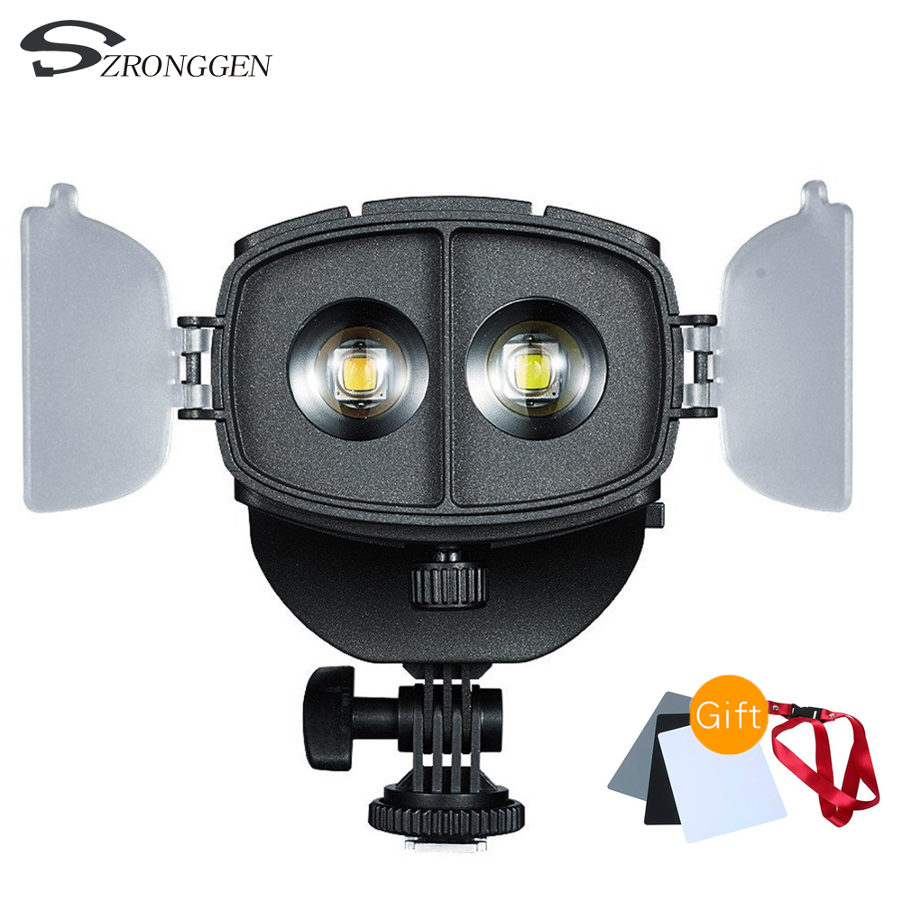 NanGuang CN 20FC LED Photography Light Spotlight Focus LED Video Light for Canon Nikon DSLR Sony
