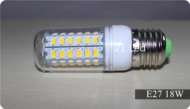 2020 סיטונאי חדש led מכירה לוהטת E27 E14 9 w 12 w 15 w 20 w SMD5730 LED תירס מנורת הנורה חם/לבן led תאורת משלוח חינם