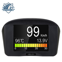 Original AUTOOL X50 2 4inch Car OBD Smart Digital Meter Alarm Fault Code Water Temperature Gauge