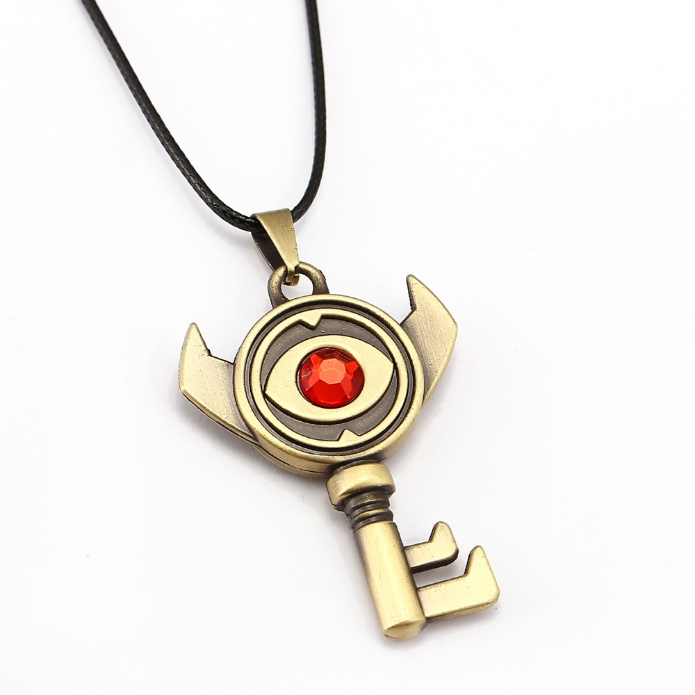 The Legend of Zelda Necklace 3 style Evil eye Key Colgante amistad - Bisutería - foto 4