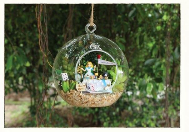 Diy fairy glass house